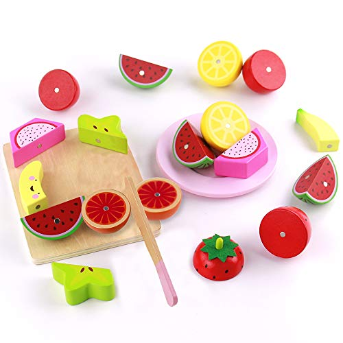 Frutas Verduras Juguete Cortar Alimentos Comida Juguete