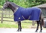 Masta Avante Fleece - Material para dirigir al Caballo, Color Azul, Talla 1,5 m