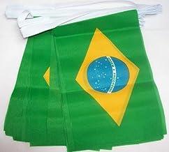 AZ FLAG Bandiera da Tavolo di PRESTIGIO Argentina 22x15cm in Raso Piccola BANDIERINA Argentina 15 x 22 cm