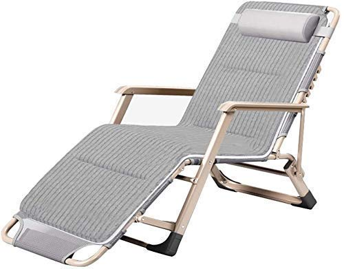 Yuany Silla Silla de jardín, sillas mecedoras Relajante al Aire Libre de la Silla, Silla de Fundas de Almohada, Silla de Playa, Sol