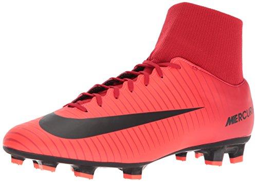 Nike Herren Mercurial Victory VI DF FG Fußballschuhe, Rot (Rouge Université/cramoisi...