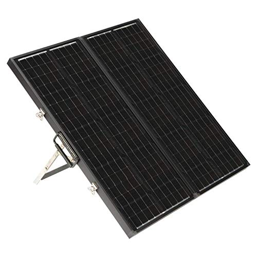 "Zamp solar Legacy Series 90-Watt ""Long"" Portable Solar Panel Kit with Integrated Charge Controller and Carrying Case. Off-Grid Solar Power for RV Battery Charging - USP1007"