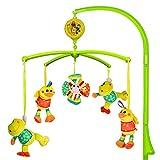 MOOKLIN ROAM Baby Mobile con Musica,Musicale per Culla per Bambini Culla Neonato per Neonati (0+ Mesi), Music Box Mobile con Musica Rilassante