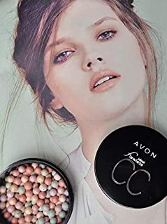 Avon Ideal Flawless CC Color Corrector Pearls, Soft & Blendable Mutli-Benefit Formula Camouflage Blemishes, Pigmentation A...