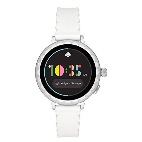 [【タッチスクリーンスマートウォッチ】Scallop KST2011J] スマートウォッチ ケイト・スペード ニューヨーク scallop smartwatch 2 KST2011J レディース ホワイト