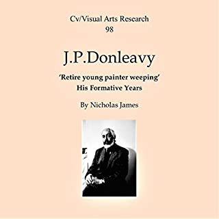 J. P. Donleavy: Retire Young Painter Weeping - His Formative Years cover art