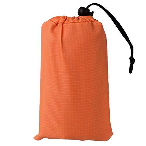 Picknick Dekens, Oranje Ultra-Licht Multifunctionele Outdoor Pocket Een Chic Picknick Mat Makkelijk Te Veeg Waterdichte Tent Camping Mat