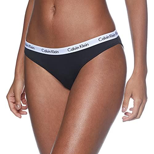 Calvin Klein Damen Bikini 3Pk Panties, Schwarz (Black 001), XL