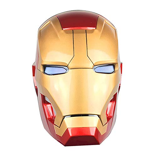 MC Iron Man Iron Man Helm Marvel Super Hero Model Avengers um den Spielzeughelm MK42 in Lebensgröße tragbar Statue