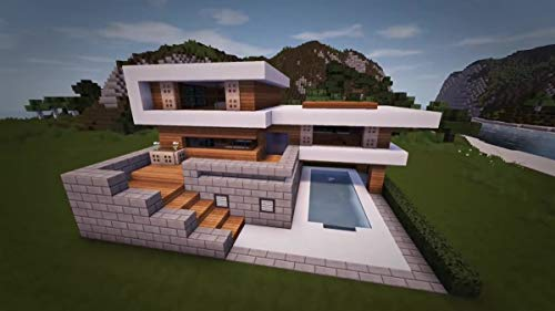 Minecraft How To Build A Large Modern House Tutorial Minecraft How To Build A Large Modern House Tutorial Ebook Dargon Farchi Amazon Ca Kindle Store