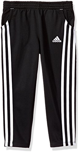 Adidas Toddler Girls' Yrc Warm up Tricot Pant, Black, 3T