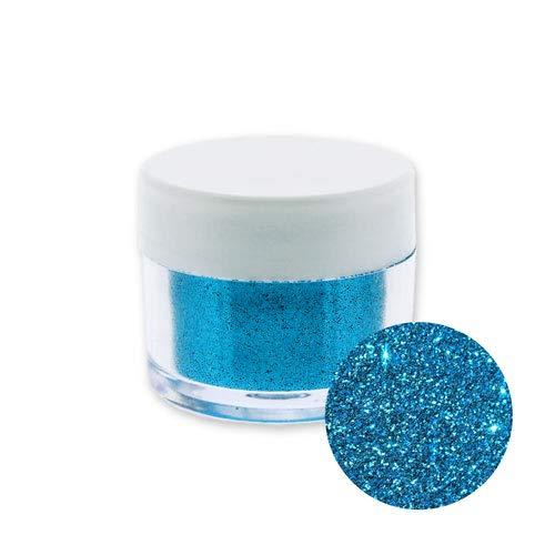 Glitter, Blau