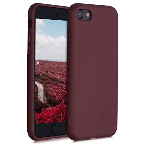 kalibri Hülle kompatibel mit Apple iPhone 7/8 / SE (2020) - Handyhülle - Handy Case in Tawny Red