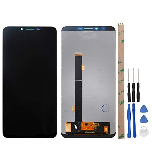 """YHX-OU 5.99\"""" für Cubot X18 Plus LCD Display Touch Screen Digitizer+ Installationswerkzeuge (Schwarz)"""
