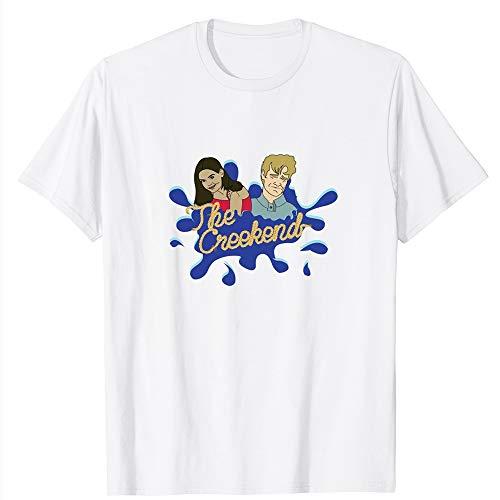 The Creekend Classic Dawsons-Creek Dawson-leery Pacey-witter Katie Holmes Vintage Gift Men Women Girls Unisex T-Shirt (White-3XL)