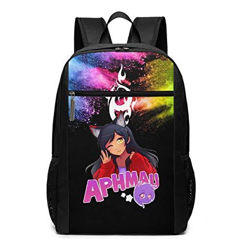 17 Inch Large Phoenix_Aphmau-Aaron Backpacks for Kids Teens School Bags Rucksack Daypacks Zipper