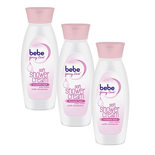Bebe Young Care Soft Shower Cream, 3er Pack (3 x 250 ml)