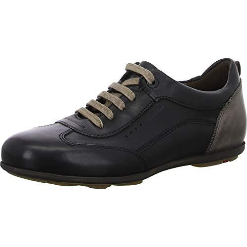 LLOYD Herren BAHAMAS Sneaker, SCHWARZ/GRAPHIT, 44.5 M EU