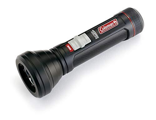 Coleman Taschenlampe BatteryGuard 500 Lumen, CREE LED, Extrem Hell, für Indoor und Outdoor Einsatz, inklusive 3 x AA Batterien Linterna, Unisex Adulto, Negro, Small