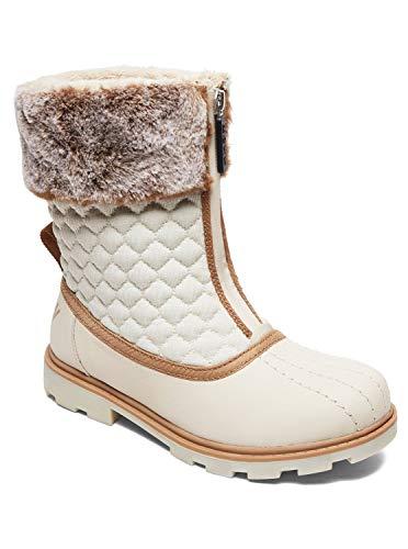 Roxy (ROY11) Kimi-Waterproof Winter Boots for Women, Bottes & Bottines Souples Femme, (Taupe Tau), 39 EU