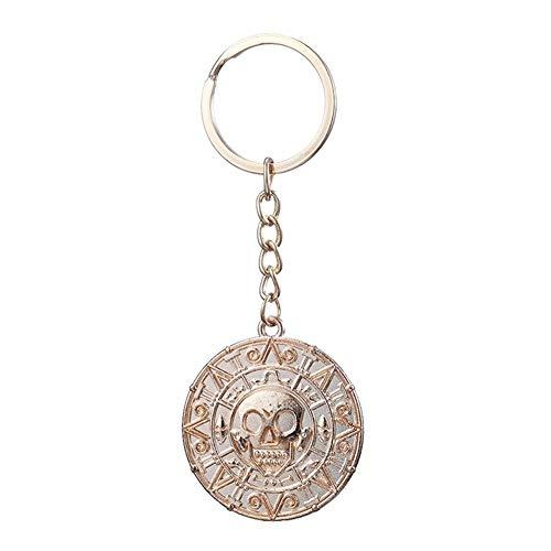 YUNGYE Pendant Collar del cráneo de Jack Colgante de la Vendimia (Color : 50cm, Size : K GO)