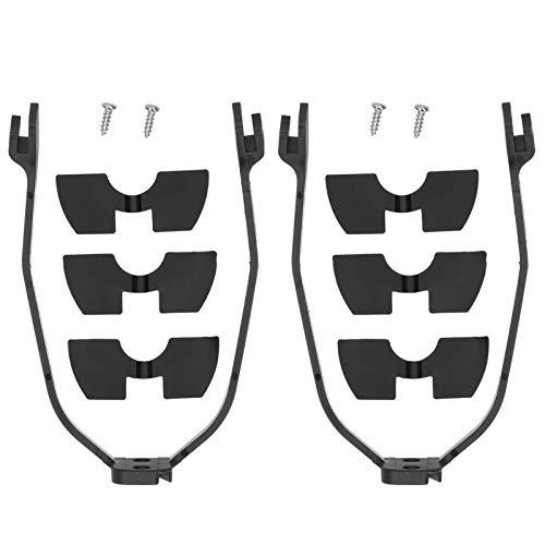 Guardabarros trasero para scooter eléctrico, amortiguadores de vibraciones para scooter, con 2 juegos, 3 espesores de amortiguadores de vibraciones, una forma sencilla de instalar, adecuado para Xiaom