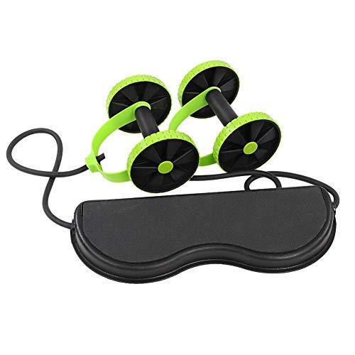 Tonysa Ab Wheel Roller Gym Attrezzature per Il Fitness da casa Attrezzo Ginnico Addominale Maniglie Antiscivolo per Palestra di Home Office