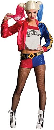 Rubie s Women s DC Comics Suicide Squad Deluxe Harley Quinn Costume As Shown Large product image