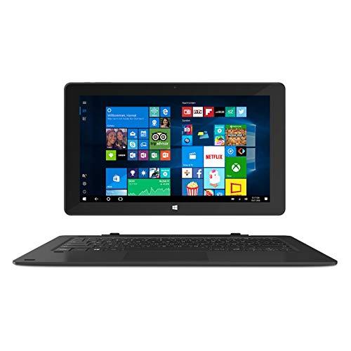 """Pantalla IPS Full HD de 10,1"""" con 1920 x 1200 píxeles. Windows 10 Home S Mode con Office 365. Procesador Intel Celeron N4000. 4 GB de RAM y 64 GB de memoria interna. Tablet PC 2 en 1. Teclado extraíble."""
