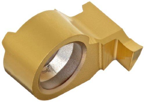 Sandvik Coromant CoroCut MB Carbide Face Grooving Insert, MB-FG Geometry, GC1025 Grade, Multi-Layer Coating, 1 Cutting Edge, MB-09FA150-02-14R, Right Hand Orientation, A Curve, 0.059