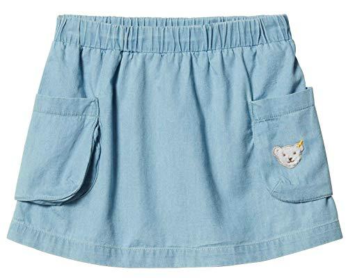 Steiff® Mädchen Jeans Rock, Präzise Farbe:Blau, Größe:104