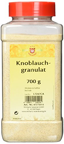 Wichartz Würzkönig Knoblauchgranulat, 2er Pack (2 x 700 g)