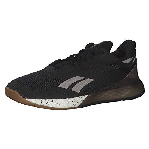 Reebok Nano X, Zapatillas de Deporte Mujer, Negro/MOODUS/Chalk, 38 EU