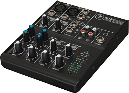Mackie 402VLZ4 DJ-Mixer - Audio-Mixer (20 - 20000 Hz)