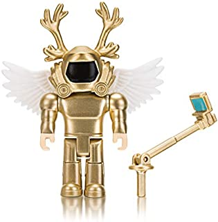 Roblox Simoon68: Golden God 3.5 Inch Figure with Exclusive Virtual Item Code