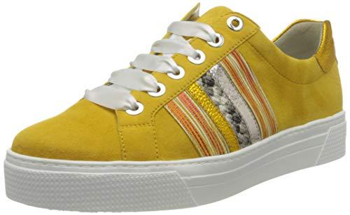 Semler Damen Alexa Sneaker, Gelb (Sun-Natur-Puder 098), 42 EU