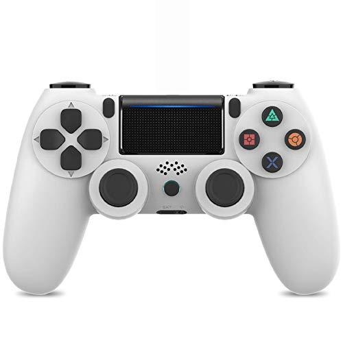 Playstation 4 Game controller, Wireless PS4 controller- Gamepad para PS4/PC/ laptop con conector para auriculares, motores de vibración, indicador LED y agarres antideslizantes