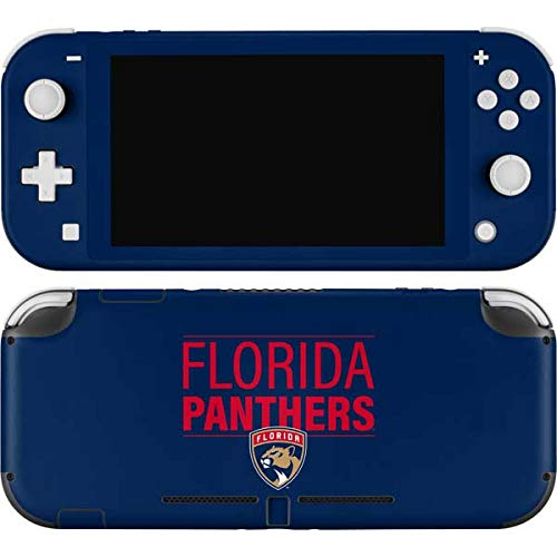 Skinit Decal Gaming Skin Compatible with Nintendo Switch Lite - Officially Licensed NHL Florida Panthers Lineup Design