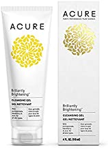 product image for Acure Brilliantly Brightening Cleansing Gel, 4 Fluid Ounces (Pack of 2)