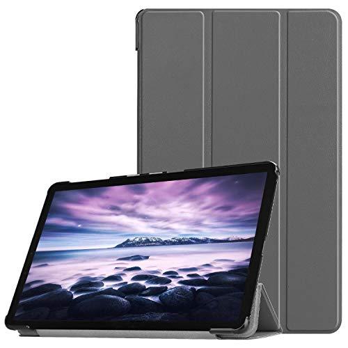 Lobwerk móvil para Samsung Galaxy Tab a SM de t590SM de T595SM de t59710.5Pulgadas Funda Smart Cover con Auto Sleep/Wake + Touchpen Gris Gris