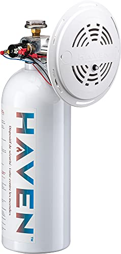 Haven Automatic Heat-Activated Fire Suppression Device - Gen 2, Non-Toxic, ABC, 5 Year Worry-Free Industrial and Urban...