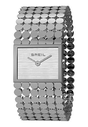 Reloj BREIL por Mujer Silk con Correa de Acero, Movimiento Time Just - 2H Cuarzo