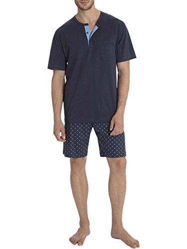 Calida Rick Kurz-Pyjama Herren