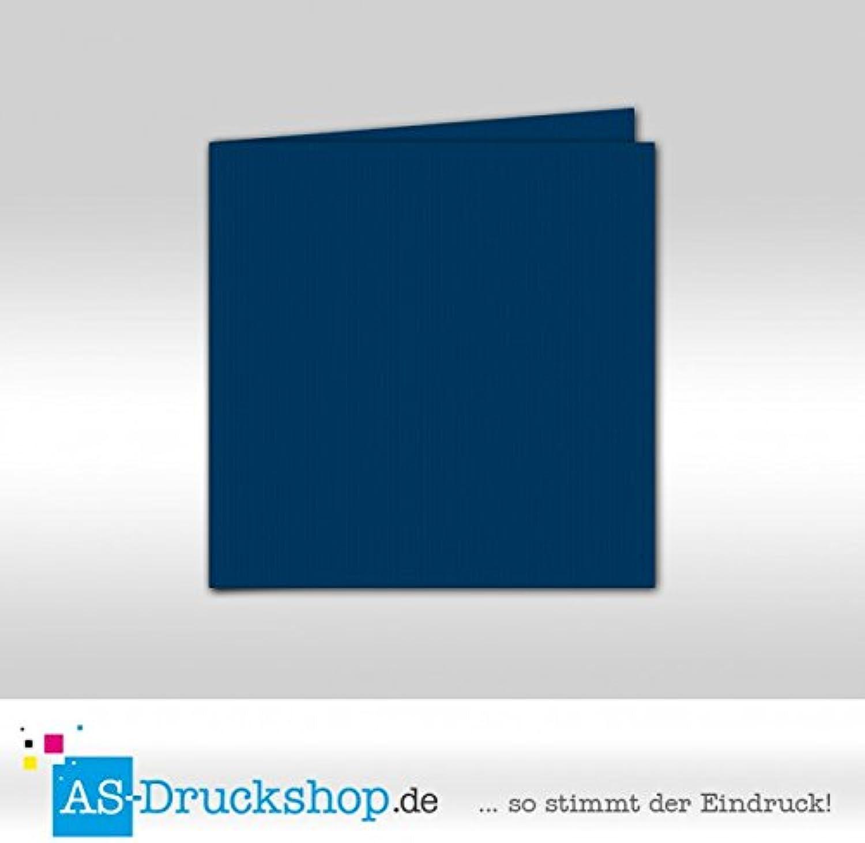 Faltkarte Doppelkarte - Indigo 50 Stück Stück Stück Quadratisch 155 x 155 mm B0794Y3HKQ   | Haltbarkeit  2ef254
