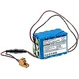 vhbw batería compatible con Besam CUD3000 puerta corredera eléctrica 1500mAh (18V) NiMH