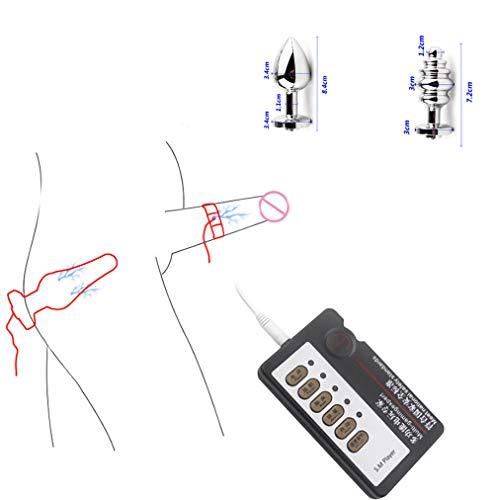 Electro Stim Kit-Accessoires-Elektrische Stimulatie Anaalplug Prikkelstroomstimulator Torture Massager