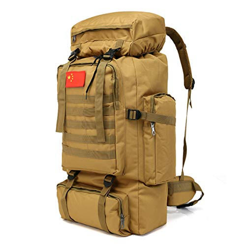 70L Molle Camo Mochila táctica Militar ejército Impermeable Camping Senderismo de Viaje