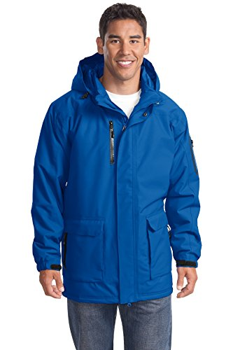 Port Authority Men's Heavyweight Parka 3XL Royal
