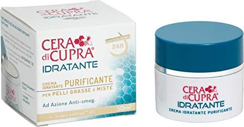 Cera di Cupra Crema Idratante Purificante - 3 confezioni da 50 ml