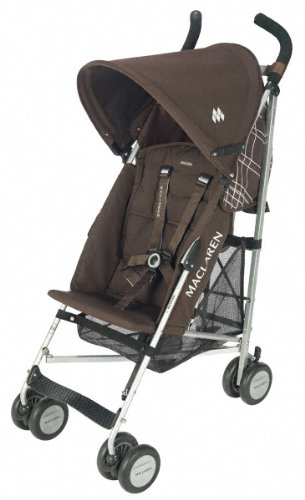 MacLaren WEX04012 - Silla de paseo (cubierta desmontable, cesta, burbuja de lluvia incluida)